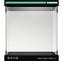 Aquarium DENNERLE Nano Cube 60l avec feuille d'arrière-plan, support en mousse-thumb-0