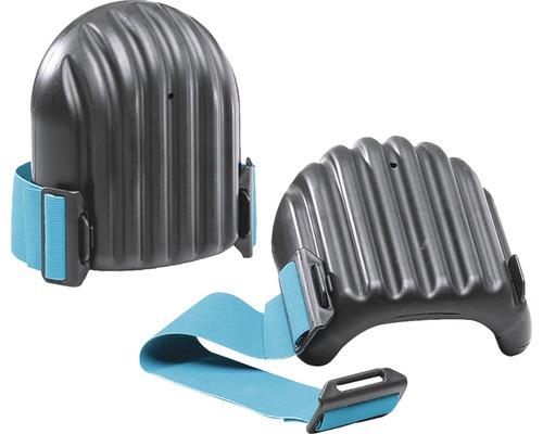 Protège-genoux noirs avec protection anti-lame DIN EN 14404:2011/2004, 2 pièces