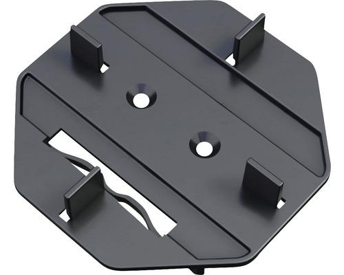 Embout de fixation plot pour terrasse M-Fix-H kit=100 pièces avec patin et vis autotaraudeuses