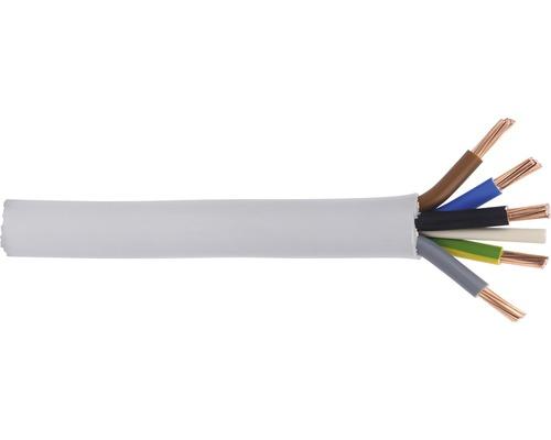 Câble sous gaine NYM-J 5x25mm² gris au mètre
