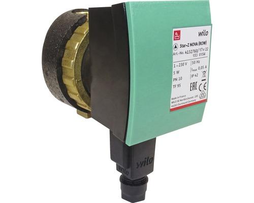 Pompe de circulation à eau sanitaire Wilo Star-Z NOVA