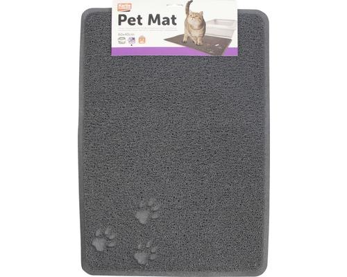 Tapis Karlie Pet Mat 60x40x0,8cm gris