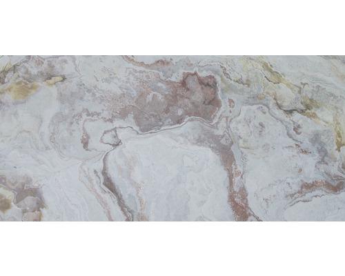 Ardoise multicolore pierre véritable Slate-Lite très fine 1,5mm Blanco 30x60cm