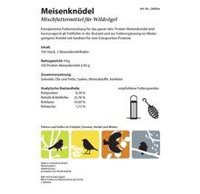 Ganzjahresvogelfutter Meisenknödel Protein 100 Stück mit 2 Spendern-thumb-6