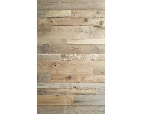 Panneau en bois véritable Barnwood Montreal Natural, lot = 0,80 m²