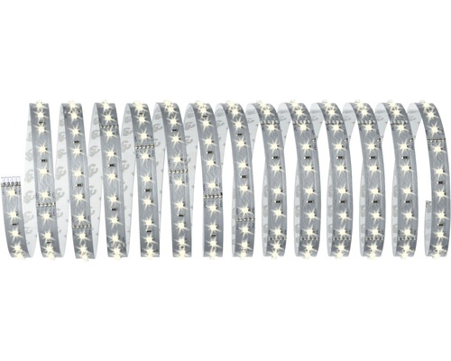 Kit de base MaxLED 500 bandes LED IP20 5 m 2750 lm 3000 K blanc chaud 216 LED 230-24V convient au Smart Home après extension
