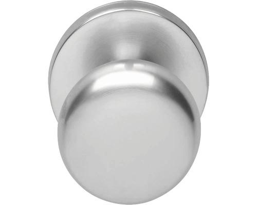 Bouton de porte d''entrée Intersteel Ø 57 mm chrome mat