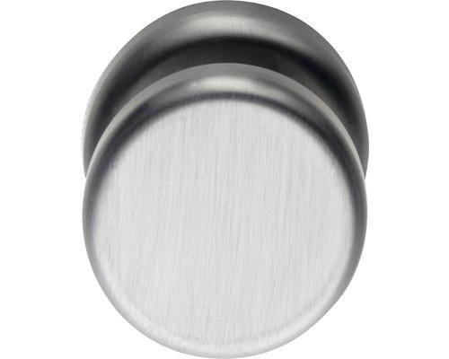 Bouton de porte d''entrée rond Nobile acier inoxydable Ø 50 mm 1 pièce