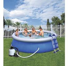 Kit de piscine ronde à pose rapide Bestway Fast-Set Ø 366cm, hauteur 91cm-thumb-0