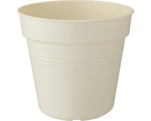 Pot de fleurs elho Green Basics plastique Ø11H10cm coton