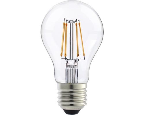 Ampoule LED FLAIR E27/8W(75W) A60 à filament transparent 1000 lm 2700 K blanc chaud