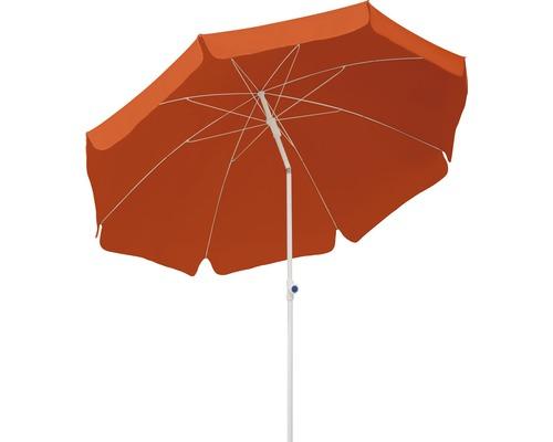 Parasol Schneider Ibiza Ø 200 cm H 215 cm terre cuite