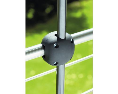 Pince de balcon Foxi pour support de parasol