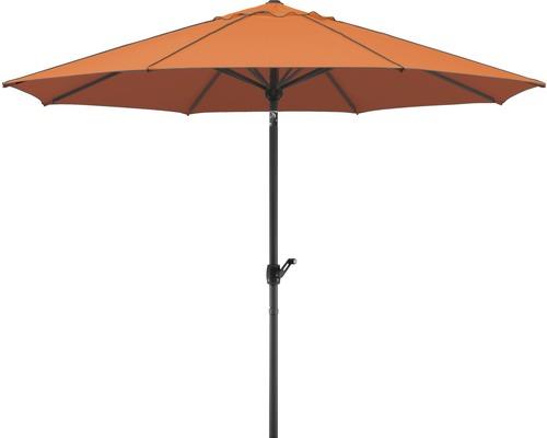 Parasol Schneider Adria Ø350cm terracotta