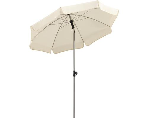 Parasol Schneider Locarno Ø150cm H220cm naturel