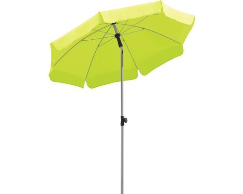 Parasol Schneider Locarno Ø150cm H220cm vert pomme