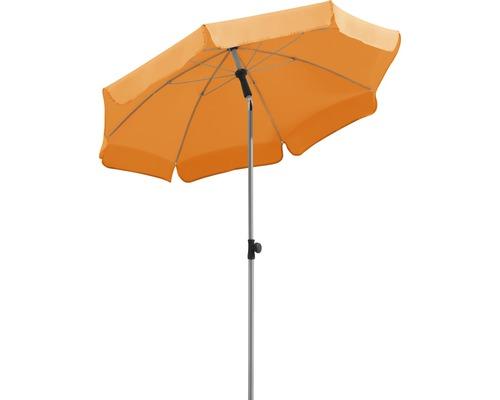 Parasol Schneider Locarno Ø150cm H220cm mandarine