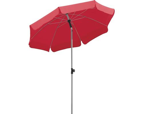 Parasol Schneider Locarno Ø200cm H220cm rouge