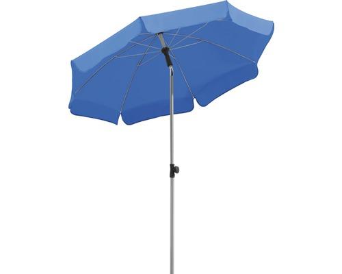 Parasol Schneider Locarno Ø200cm H220cm bleu royal