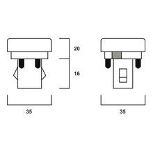 Ampoule économique G24q2 18 W 840 blanc neutre-thumb-2