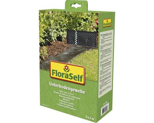 Toile de paillage FloraSelf 5x2m 100g/m² noir