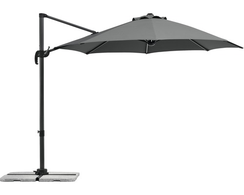 Parasol Schneider Backlight Ø300cm anthracite