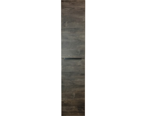 Armoire haute Pulse chêne Chocolate oak 170x35 cm