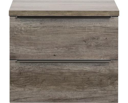 Ensemble de meubles de salle de bains Pulse Nebraska oak