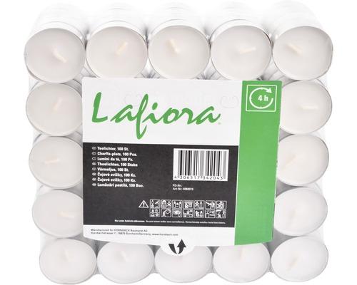 Bougies de chauffe-plat Lafiora Ø 4cm 100 unités