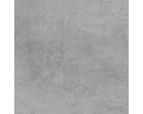 Dalle de terrasse en grès cérame fin Hometec grey mat 60x60x2cm