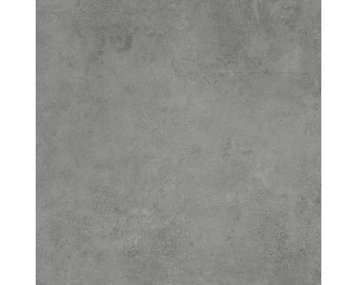 Dalle de terrasse en grès cérame fin Hometec graphit mat 60x60x2cm