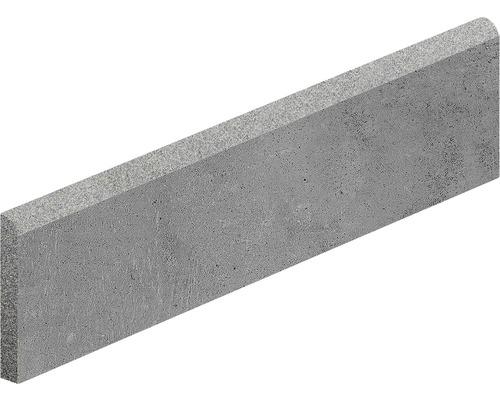 Carrelage de plinthe Hometec graphit 7,5x60 cm