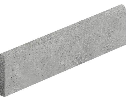 Plinthe Hometec Grey mat 7,5x60cm, contenu 3pièces