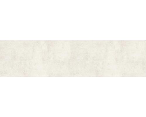 Carrelage sol et mur en grès cérame fin HOMEtek Ivory mat 30 x 120 cm