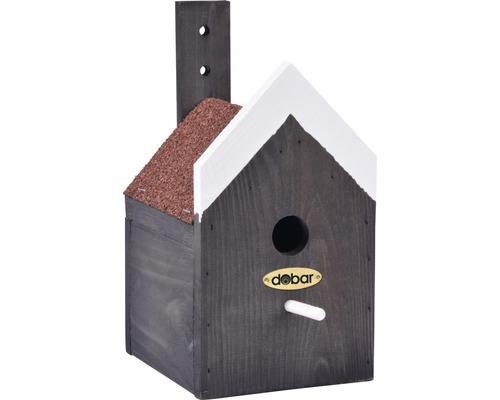 Nichoir de pignon maison à toit en pointe16x13,5x26,5cm