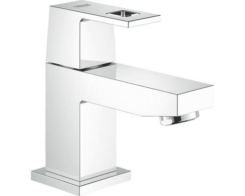 Robinet de lave-mains GROHE Eurocube 23137000 chrome, sans bonde de vidage
