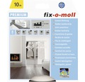 E-Profildichtung fix-o-moll selbstklebend weiß 10 m 4 x 9 mm