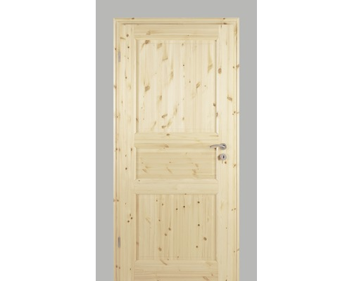 Porte intérieure Pertura Fengur style maison de campagne pin 86,0x198,5 cm poussant gauche 02/03