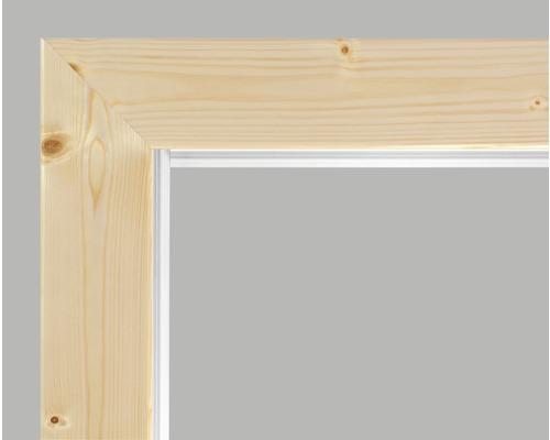 Cadre complet Pertura épicéa laqué lisse 198,5x61,0x10,0 cm droite