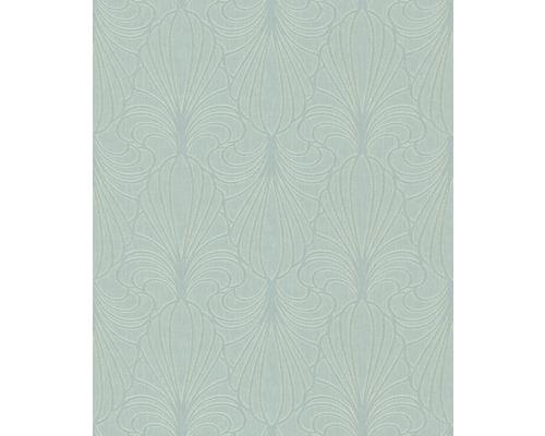 Papier Peint Intisse 59075 Savoy Graphique Vert Clair Hornbach
