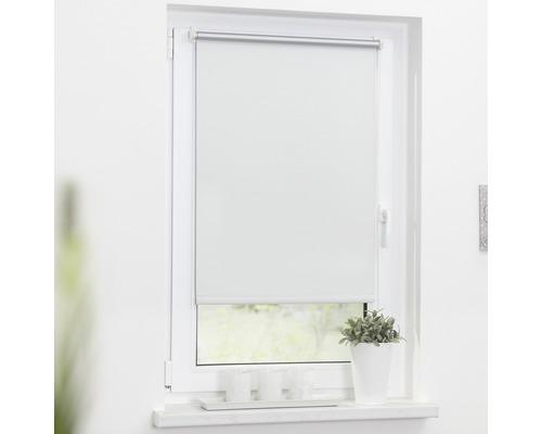 Store à clipser Lichtblick Thermo sans vissage blanc 45x150 cm, supports de serrage compris