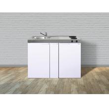 Mini-cuisine stengel Kitchenline MK120A, largeur 120 cm, bac à gauche, blanc brillant 1112000202100-thumb-3