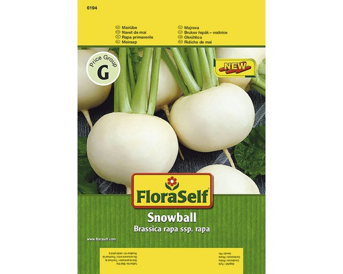 Là-bas Snowball FloraSelf semences de légumes