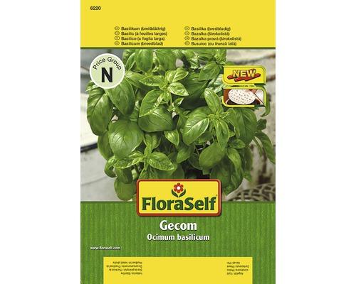 Basilic ''Gecom'' FloraSelf semences de fines herbes