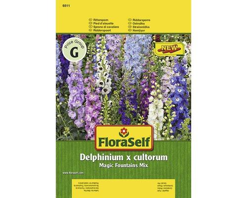 Delphinium ''Magic Fountains White'' FloraSelf semences de fleurs