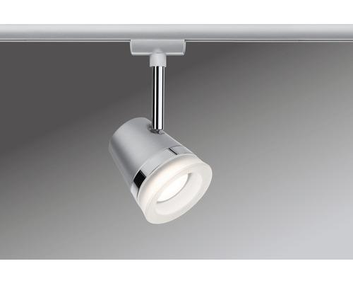 Spot Cone URail Paulmann 1 ampoule chrome mat 230V