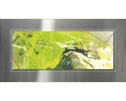 Tableau en métal Abstraction II 50x100 cm