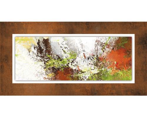 Tableau en métal Abstraction V 50x100 cm