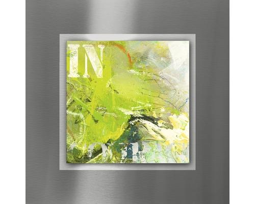 Tableau en métal Abstraction I 50x50 cm