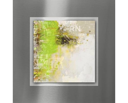 Tableau en métal Abstraction II 50x50 cm